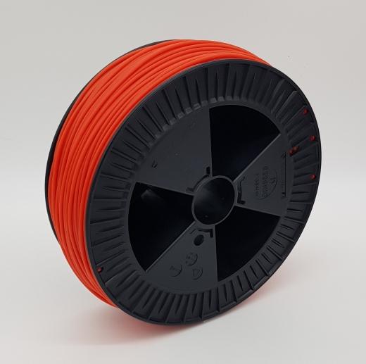 Plastic welding rod HDPE BCP171 blood orange RAL 2000