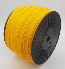 Plastic welding rod HDPE BCP171 traffic yellow RAL 1023