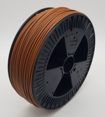 Plastic welding rod HDPE BCP171 beige brown RAL 8024