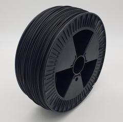 Kunststoffschweißdraht HDPE el. leitf. Basell Hostalen GM 9350c schwarz
